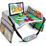 Kids Travel Tray - Search & FIND Dinosaur Design - ANVICI Kids Lap Desk Tray - Dry Erase Table for Carseat - Portable Activit