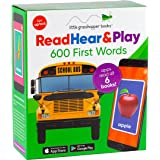 Read Hear & Play: 600 First Words (6 First Word Books & Downloadable Apps!): 6 Book Boxed Set