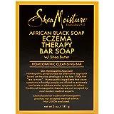SheaMoisture Bar Soap for Eczema African Black Soap Bar Soap with Shea Butter 5 oz
