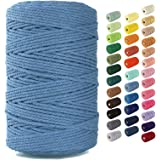 Nook Theory Macrame Cord 3mm - Flexible & Soft Rope Perfect for Knots - Macrame Supplies for DIY Wall Hangers, Plant Holders