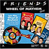 Friends TV Show, Wheel of Mayhem Game, for Adults and Kids Ages 12 and up