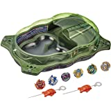 Beyblade Burst Rise - Hypersphere Extreme Challenger Battle Set - Incl Beystadium, 6 battling tops & 2 launchers - Action Gam