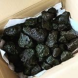 富士山 溶岩石(高濾過) 3キロ 50-80㎜ 黒 水槽 レイアウト 石 飾り 岩 アクアリウム コケリウム ビオトープ…