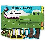 "Melissa & Doug 9203 Soft Activity Baby Book - Whose Feet, 7"" x 10"""