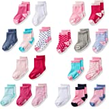 Little Me Baby Assorted Socks, Girls', Multi, 0-12/12-24 Months, 20ct