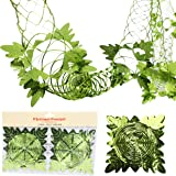 Christmas Concepts Pack of 2 9ft Foil Garland Festive Hanging Decorations - Christmas Decorations (Mint Green)