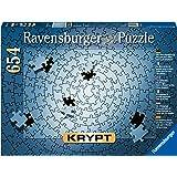 Ravensburger - KRYPT Silver Spiral Puzzle 654 pc Jigsaw Puzzle