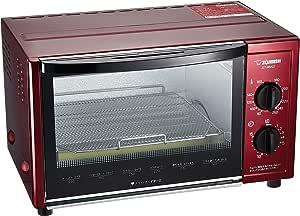 象印 オーブントースター こんがり倶楽部 80~250℃温度調整機能付き メタリックレッド ET-WM22-RM