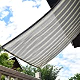 Sunlovers(サンラバーズ) 日除け シェード オーニング (180×240cm) グレー・ホワイト