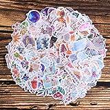 Washi Sticker Pack,10 Sheet(400pcs) Plant|Flower|Vintage|Botanical|Petals|Galaxy Scrapbooking Sticker for Envelope, Scrapbook