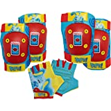 Nickelodeon Paw Patrol and Blue's Clues & You! Toddler and Kids Elbow/Knee Pads and Gloves Sets, Multiple Colors