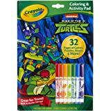 Coloring & Activity Pad w/Markers, Rise of Teenage Mutant Ninja Turtles