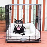 """K&H Pet Products Deluxe Bolster Crate Pad Medium Natural 21"""" X 31"""""""
