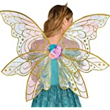 Adult Mythical Glitter Gold Fairy Wings