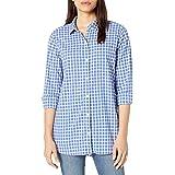 Goodthreads Amazon Brand Women's Lightweight Poplin Long-Sleeve Oversized Boyfriend Shirt