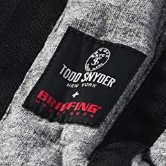 Todd Snyder x Briefing Cotton Fleece Tote Bag: Charcoal