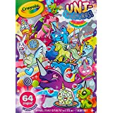 Crayola Uni-Creatures Colouring Book, 64 Magical Pages Filled with Unicorns, Donuts, Sprinkles and More, Great  Girls and Boy