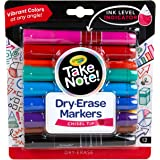 Crayola 586545 Take Note Chisel Tip Dry Erase Markers (12 Piece)