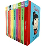Little People, Big Dreams Series 1 & 2: 10 Books Collection Set (Amelia Earhart,Coco Chanel,Frida Kahlo,Marie Curie,Maya Ange