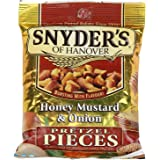 Snyder's of Hanover Honey Mustard and Onion Pretzel Pieces, 1 x 56.6g