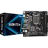 ASRock Intel 第10世代CPU(LGA1200)対応 H410チップセット搭載 Mini-ITXマザーボード 【国内正規代理店品】 H410M-ITX/ac