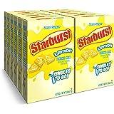 Starburst Singles To Go Powdered Drink Mix, Lemon, , Sugar-Free Drink Powder, 6 count (Pack of 12)