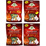 Oxbow Simple Rewards All Natural Oven Baked Treats for Rabbit, Guinea Pigs, Hamsters, and Other Small Animals Variety Pack -