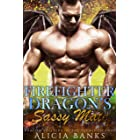 Firefighter Dragon's Sassy Mate: A Dragon Shifter Romance (Firefighter Dragons of the Secret Islands)