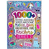 Fashion Angels 1000+ Totes Adorbs Colorful Stickers for Kids - Fun Craft Stickers for Scrapbooks, Planners, Gifts and Rewards