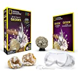 National Geographic NGGEO2 Break Open 2 Real Geodes and Explore Crystals