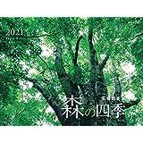 カレンダー2021 森の四季 (月めくり・壁掛け) (ヤマケイカレンダー2021)