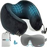 NeckSnug - Luxury Travel Pillow - Memory Foam Neck Pillow for Travel - by TravelSnugs