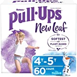 Pull-Ups New Leaf Boys' Potty Training Pants Training Underwear, 4T-5T, 60 Ct