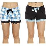 Just Love Womans Pajamas Shorts - PJs - Sleepwear (Pack of 2)