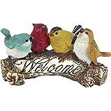 Design Toscano QM223531 Birdy Welcome Statue Small
