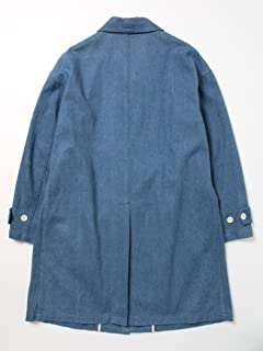 Bal Collar Coat 11-19-0586-730: Saxe Denim