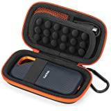 Fromsky ケース 対応 SanDisk ポータブルSSD Extreme Pro Portable、保護カバー収納袋