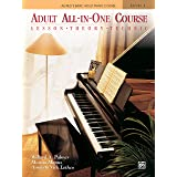 Adult All-in-One Course: Lesson, Theory, Technique: Lesson * Theory * Technic, Comb Bound Book: BK 1