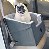 "K&H Pet Products Bucket Booster Dog Car Seat Large Gray 14.5"" x 24"""