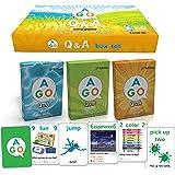 AGO Q&A 3レベル ボックスセット 第2版 英語 カードゲーム 9780994124104