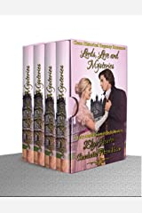Lords, Love and Mysteries Box Set (Books 1-4) (Large Print): Clean Historical Regency Romance (A Lady Angelica Landerbelt Mystery Series) Kindle Edition