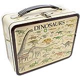 """AQUARIUS 48183 Smithsonian Dinosaurs Large Gen 2 Tin Storage Fun Box, 8"""""""