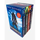 Summoner The Complete Collection 4 Books Box Set by Taran Matharu (The Novice, The Inquisition, The Battlemage & The Outcast)