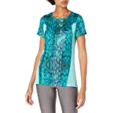 Desigual Women's Sport Tech Tee with Mesh Wild