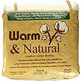 "Warm Company Warm Company Warm & Natural Cotton Batting Queen Size 90""X108"" 2341"