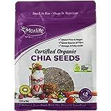 Morlife Certified Organic Chia Seeds, 500g