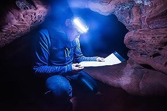【ヘッドライト革命!】「ONE80ライトヘッドランプ」世界初180度の視野を照射するLEDヘッドライト★夜を昼間に!ONE80ライトは180°の範囲を照らすことができるため、従来のヘッドライトでは実現できなかった周辺視野を実現します