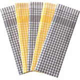 Znb's Spring Home Soft Kitchen Dish Towels,Size 18x25 inches,Set of 5,100% Cotton, Great Gift Choice,Multi-Purpose,Absorbent,