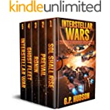 Interstellar Wars - Pike Chronicles Box Set Books 1-5 - A Space Opera Adventure: Sol Shall Rise, Book 1 - Prevail, Book 2 - R