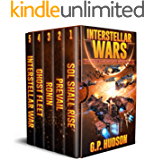 Interstellar Wars - Pike Chronicles Box Set Books 1-5 - A Space Opera Adventure: Sol Shall Rise, Book 1 - Prevail, Book 2 - Ronin, Book 3 - Ghost Fleet, ... - Interstellar War, Book 5 (English Edition)